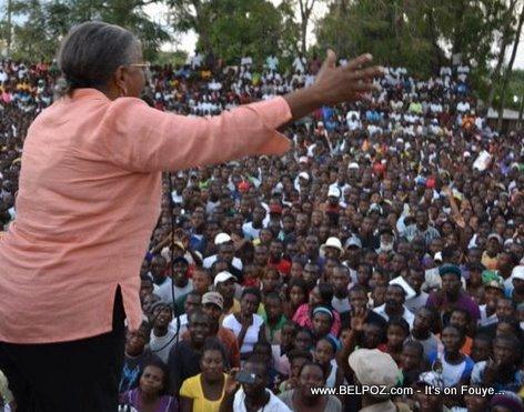 Mirlande Manigat Campaign Nord Est Haiti