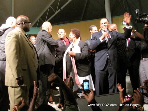 Michel Martelly Campaign Rally, North Miami Florida