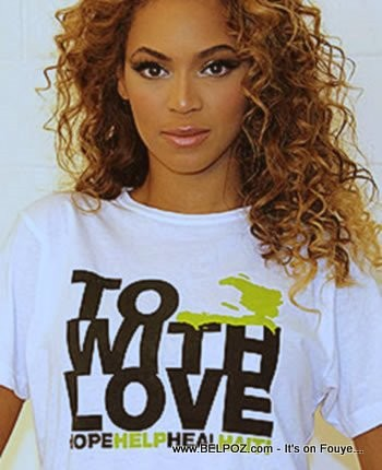 Beyonce - To Haiti With Love - Fashion for Haiti