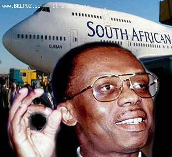 Jean Bertrand Aristide - Soutn African Airlines