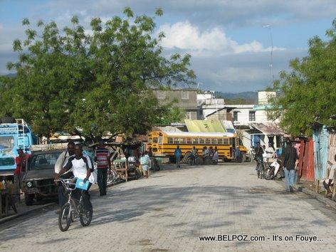 Bus Station Trou Du Nord Haiti