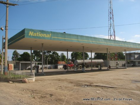 National Gas Station Trou Du Nord Haiti