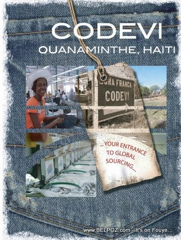 CODEVI Clothing Factory - Ouanaminthe Haiti