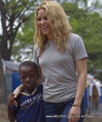 Shakira In Haiti