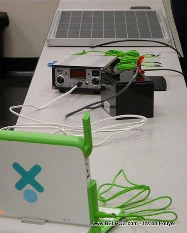 Inexpensive solar-powered charger Design For Haiti Schools