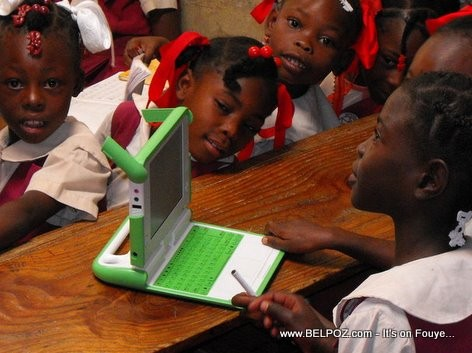 XO Laptops - One Laptop Per Child In Haiti