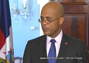 Haiti President Elect Michel Martelly At The US State Department