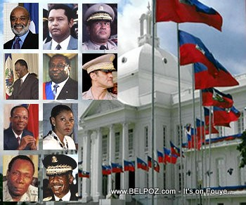 Former Presidents and Chiefs of State of Haiti