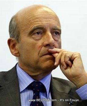 Alain Juppe - France Foreign Affairs Minister