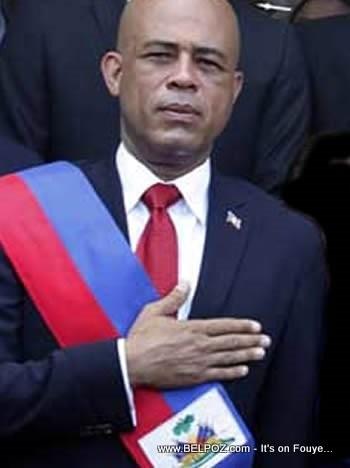 Michel Martelly, President of Haiti